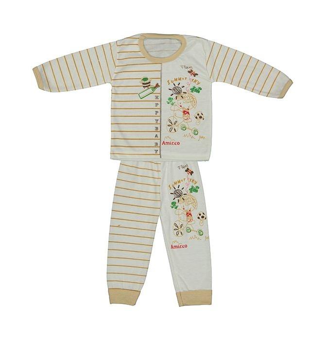 ست تی شرت و شلوار نوزادی کد 02