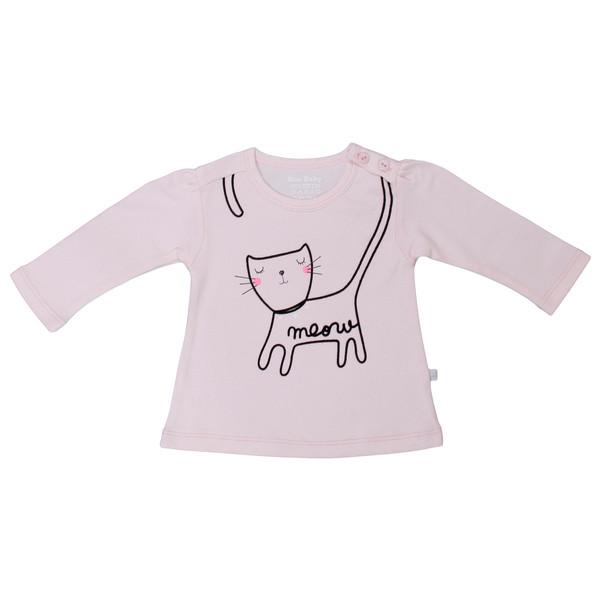 تی شرت استین بلند بیبی بو مدل Pmeow