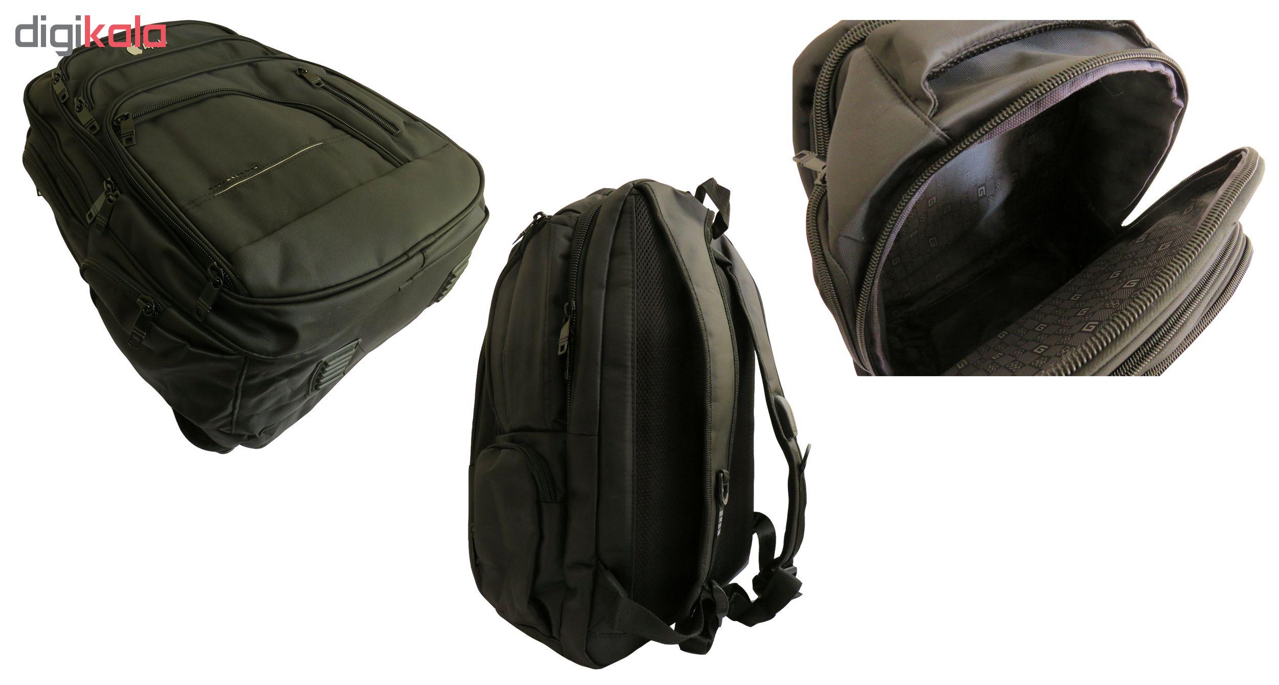 کوله پشتی لپ تاپ مدل A-001 مناسب برای لپ تاپ 15.6 اینچی