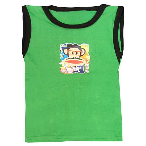 تاپ نوزادی کد 3037 رنگ سبز