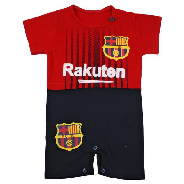 سرهمی نوزادی پسرانه طرح بارسلونا کد BB02