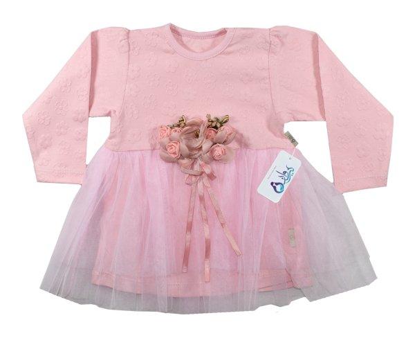 پیراهن نوزادی نیروان مدل ملکه کد 1