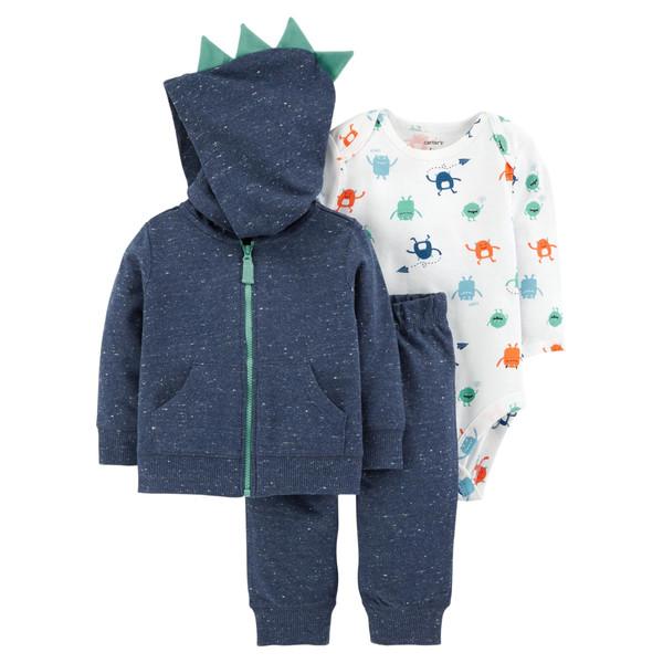 ست 3 تکه لباس نوزادی پسرانه کارترز کد 999