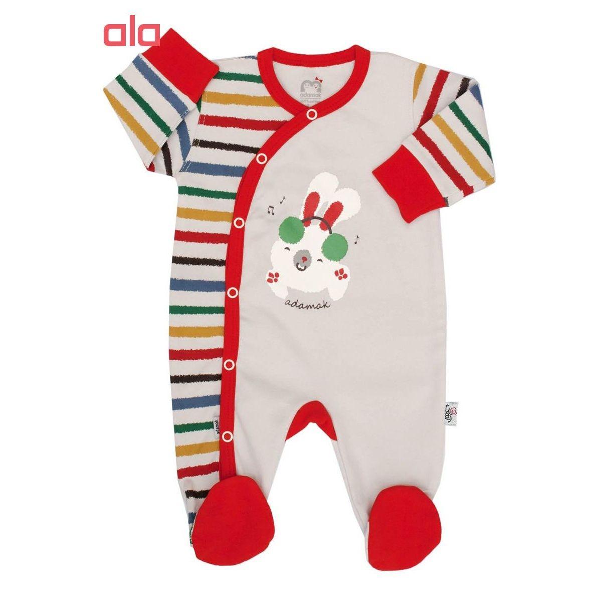 ست سه تکه لباس نوزاد آدمک طرح DJ -  - 2