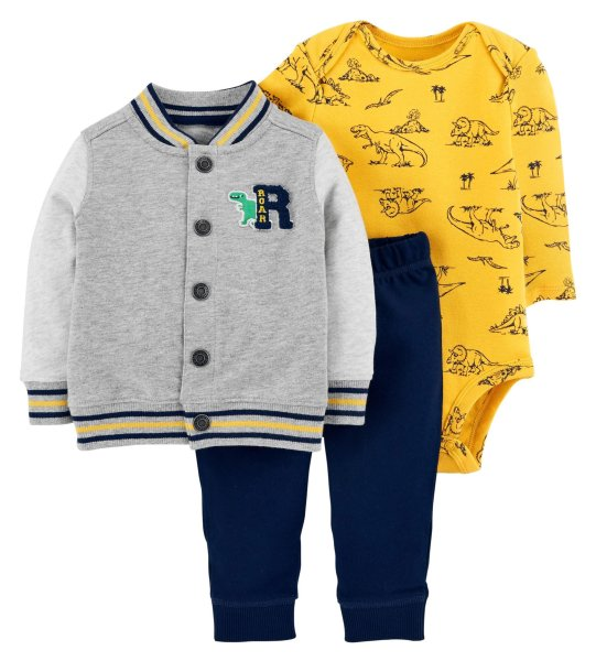 ست 3 تکه لباس نوزادی پسرانه کارترز کد 995