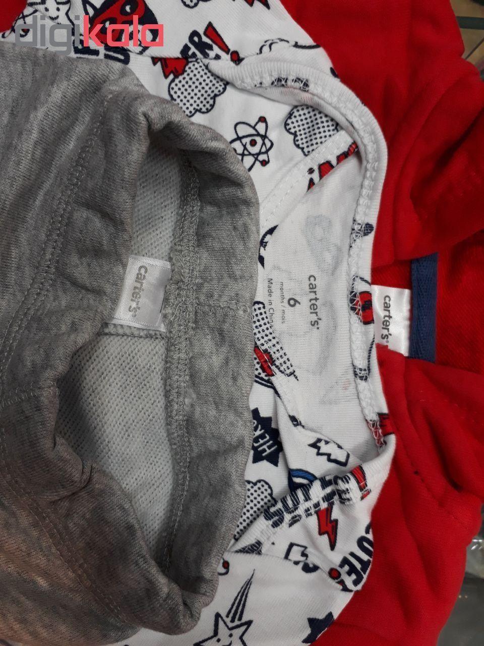 ست 3 تکه لباس نوزادی پسرانه کارترز کد 1022 -  - 4
