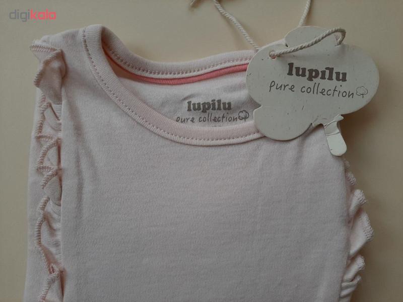 تی شرت آستین بلند نوزادی لوپیلو کد 1112