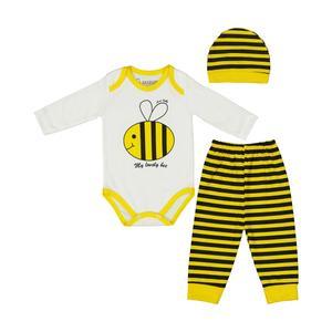 ست 3 تکه لباس نوزادی آنا بیبی کد 16