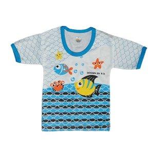 تی شرت آستین کوتاه نوزادی کد 44555MA