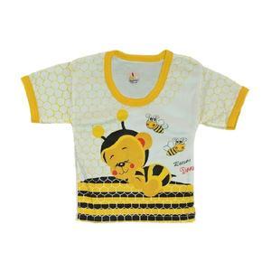 تی شرت آستین کوتاه نوزادی کد 44555ZA