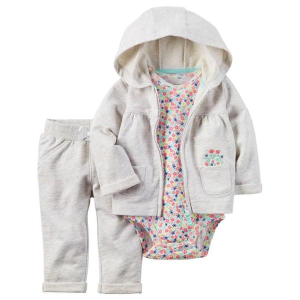 ست 3 تکه لباس نوزادی دخترانه کارترز کد 1073