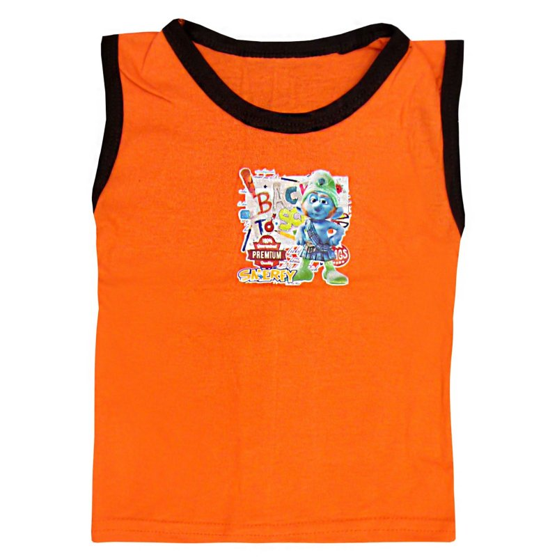 تاپ نوزادی کد 3037 رنگ نارنجی