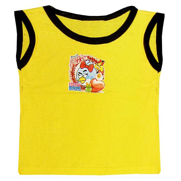 تاپ نوزادی کد 3037 رنگ زرد