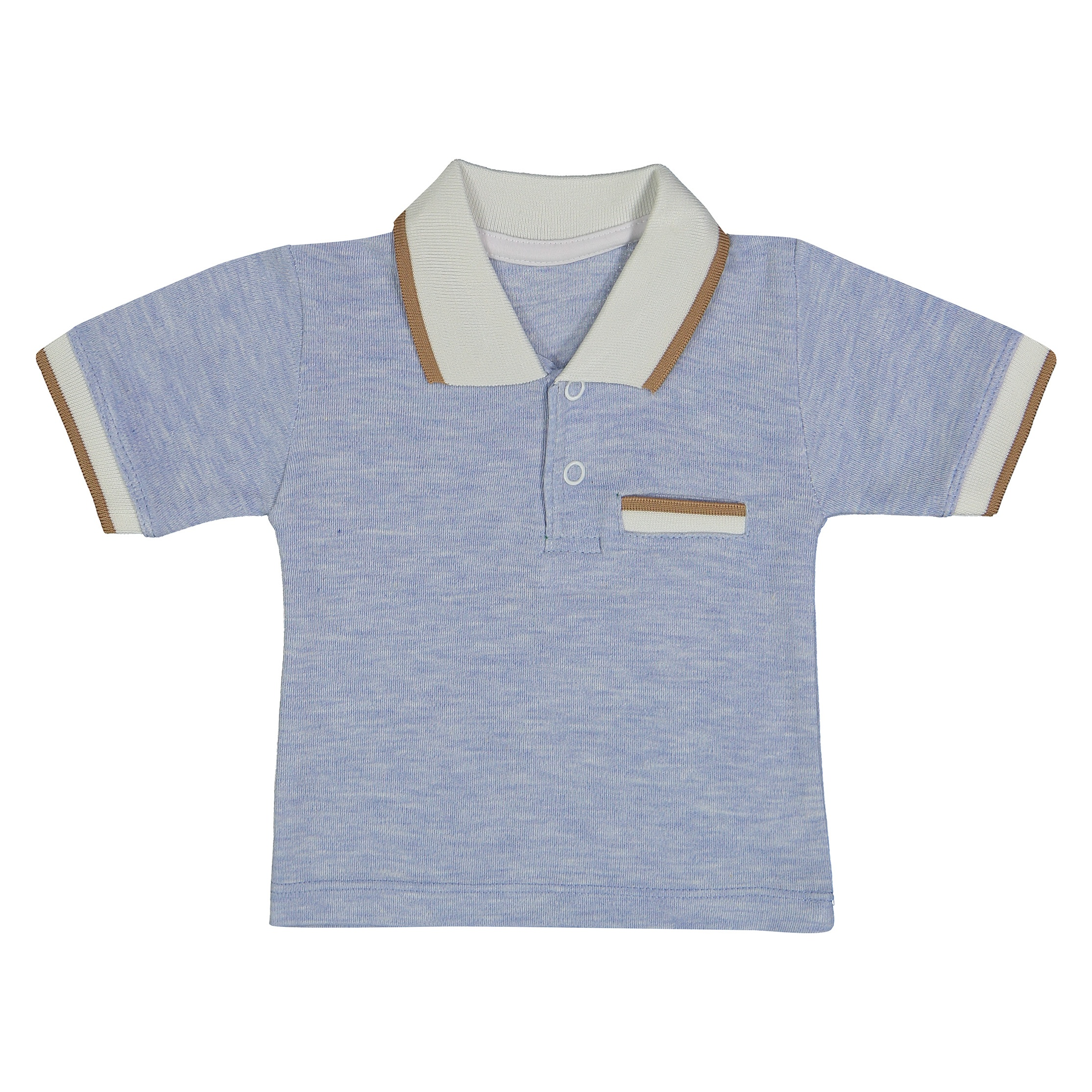 پولو شرت نوزادی پسرانه کد 726-2