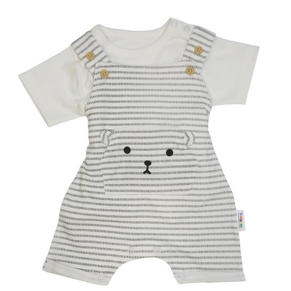 ست تی شرت و سرهمی نوزاد بی بی ناز کد 346