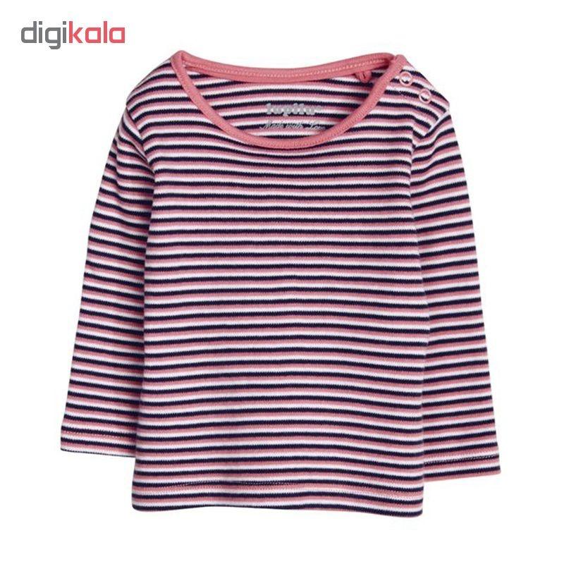 تی شرت آستین بلند نوزادی لوپیلو کد LP133 مجموعه 3 عددی main 1 3