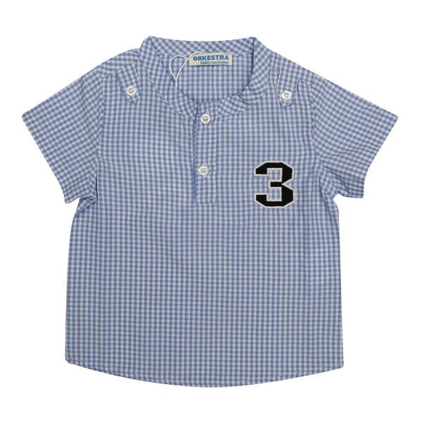 پیراهن نوزادی پسرانه ارکسترا کد M-303