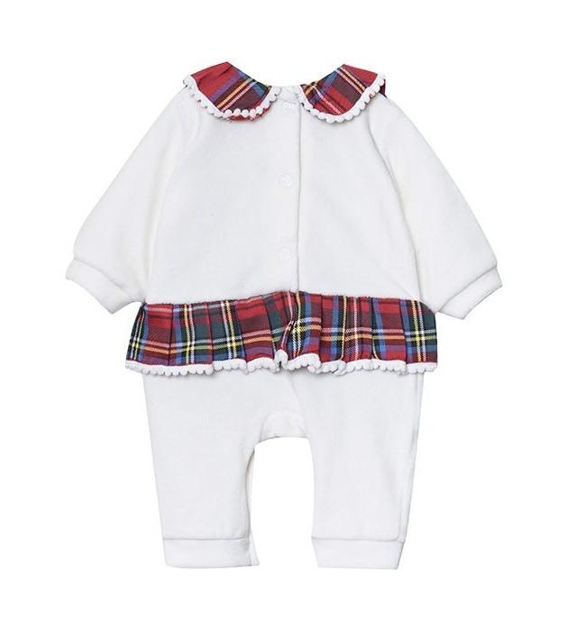 سرهمی نوزادی دخترانه مدل لاچین کد 2981