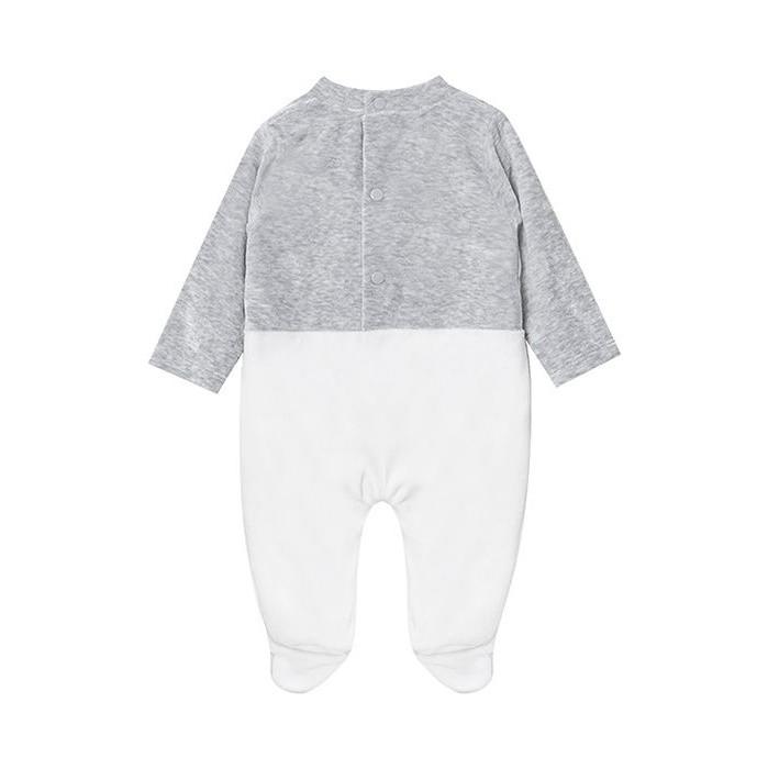 سرهمی نوزادی پسرانه فیورلا مدل خرس مهربون کد 2988