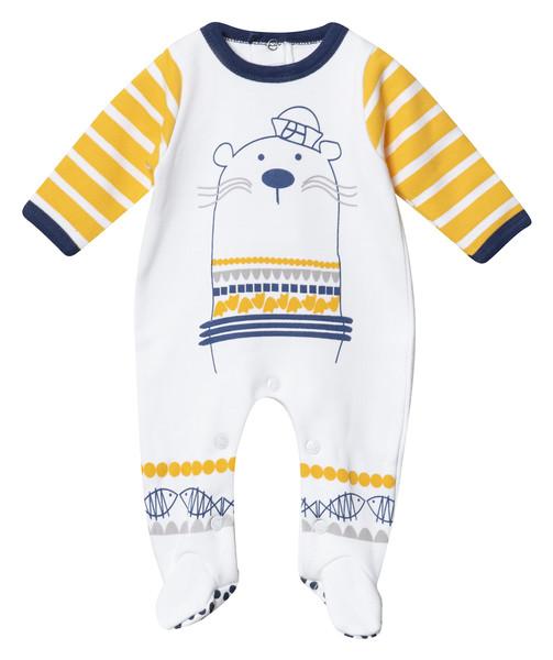 سرهمی نوزادی پسرانه فیورلا مدل سمور کد 2920