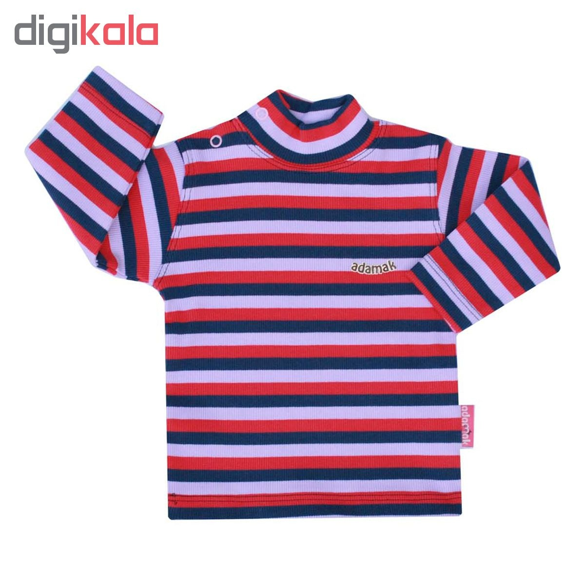 تی شرت آستین بلند نوزادی آدمک کد 02-144601