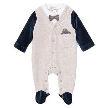 سرهمی نوزادی پسرانه فیورلا مدل ماکان کد 2987