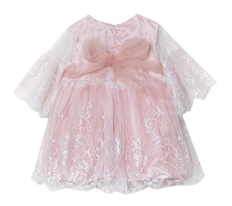 پیراهن نوزادی دخترانه فیورلا مدل شانا کد 4907