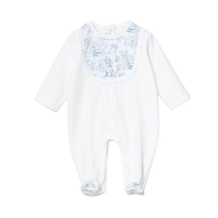 سرهمی نوزادی دخترانه فیورلا مدل هیلان کد 2909
