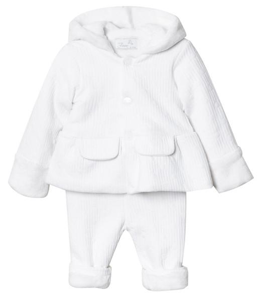 ست هودی و شلوار نوزادی دخترانه فیورلا مدل ایپک کد 2967