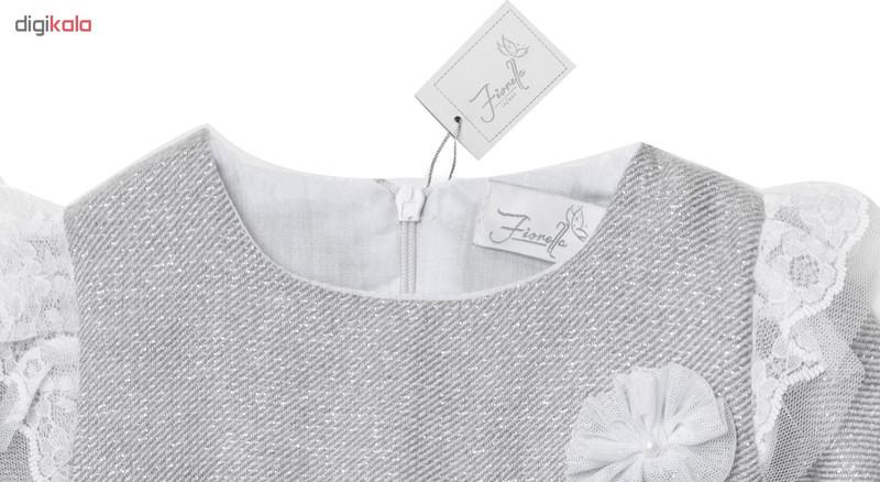 پیراهن نوزادی دخترانه فیورلا مدل پارلا کد 2978