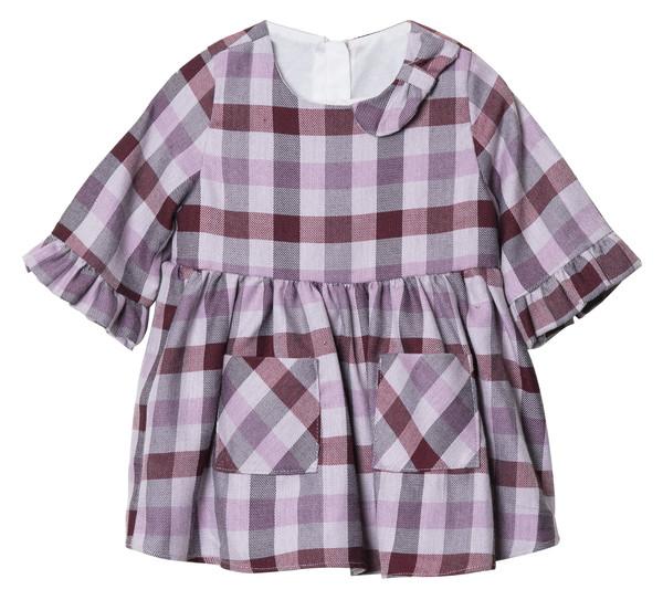 پیراهن نوزادی دخترانه فیورلا مدل سایا کد 4903