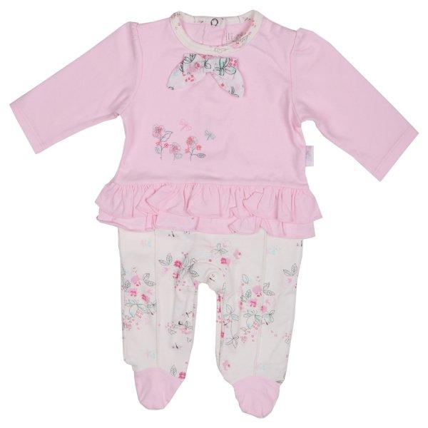 سرهمی نوزادی نیلی مدل لیانا کد 08020