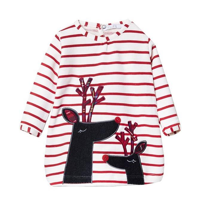 پیراهن نوزادی دخترانه فیورلا مدل کژال کد 2943