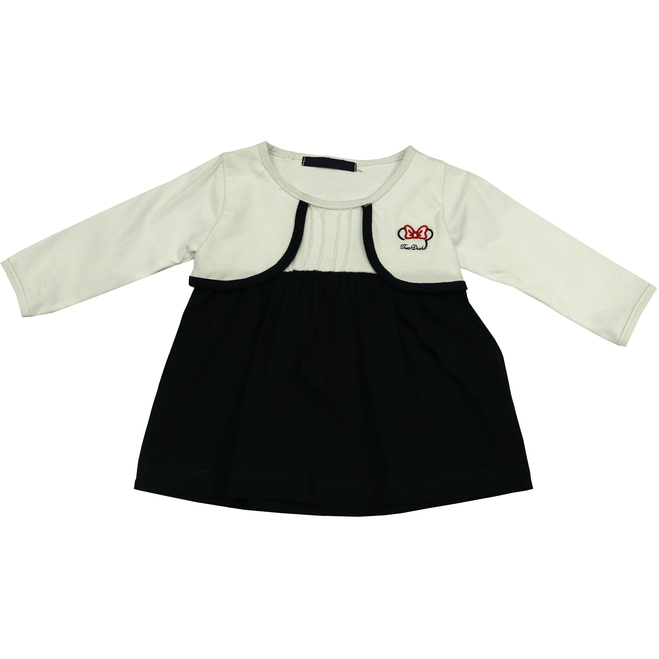 پیراهن نوزادی دخترانه مدل  2112