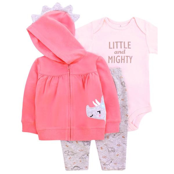 ست 3 تکه لباس نوزادی دخترانه کارترز کد 1141