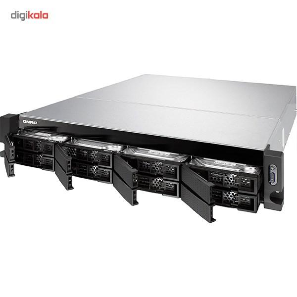 ذخیره ساز تحت شبکه کیونپ مدل TS-863U-RP بدون دیسک