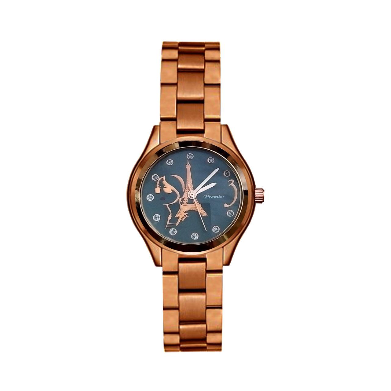 ساعت مچی عقربه ای زنانه پریمایر مدل EIFFEL