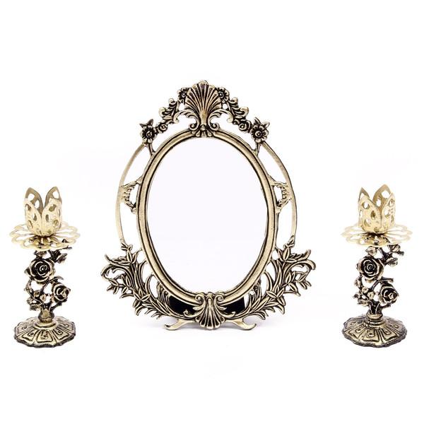 آینه و شمعدان هفت سین آرت کن مدل AB429