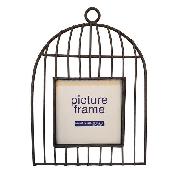 قاب عکس پرمین دکور مدل Bird Cage 101