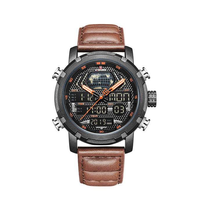کد تخفیف                                      ساعت مچی عقربه ای مردانه نیوی فورس مدل NF9160 BOLBN