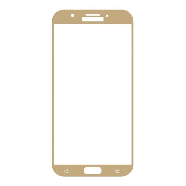 محافظ صفحه نمایش شیشه ای تمپرد مدل Full Cover مناسب برای گوشی موبایل سامسونگ Galaxy A7 2017