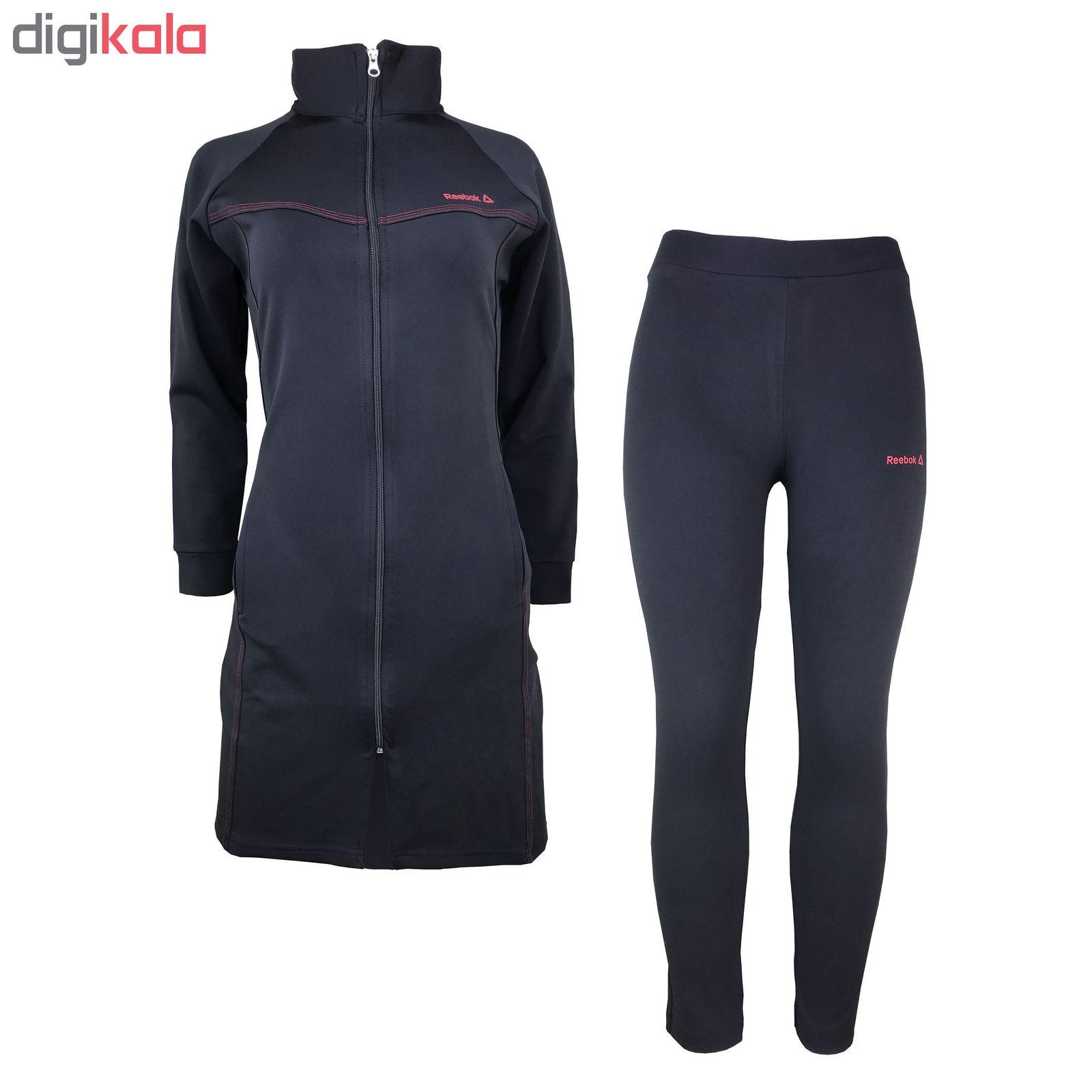 ست گرمکن و شلوار ورزشی زنانه مدل R-BL100 main 1 1