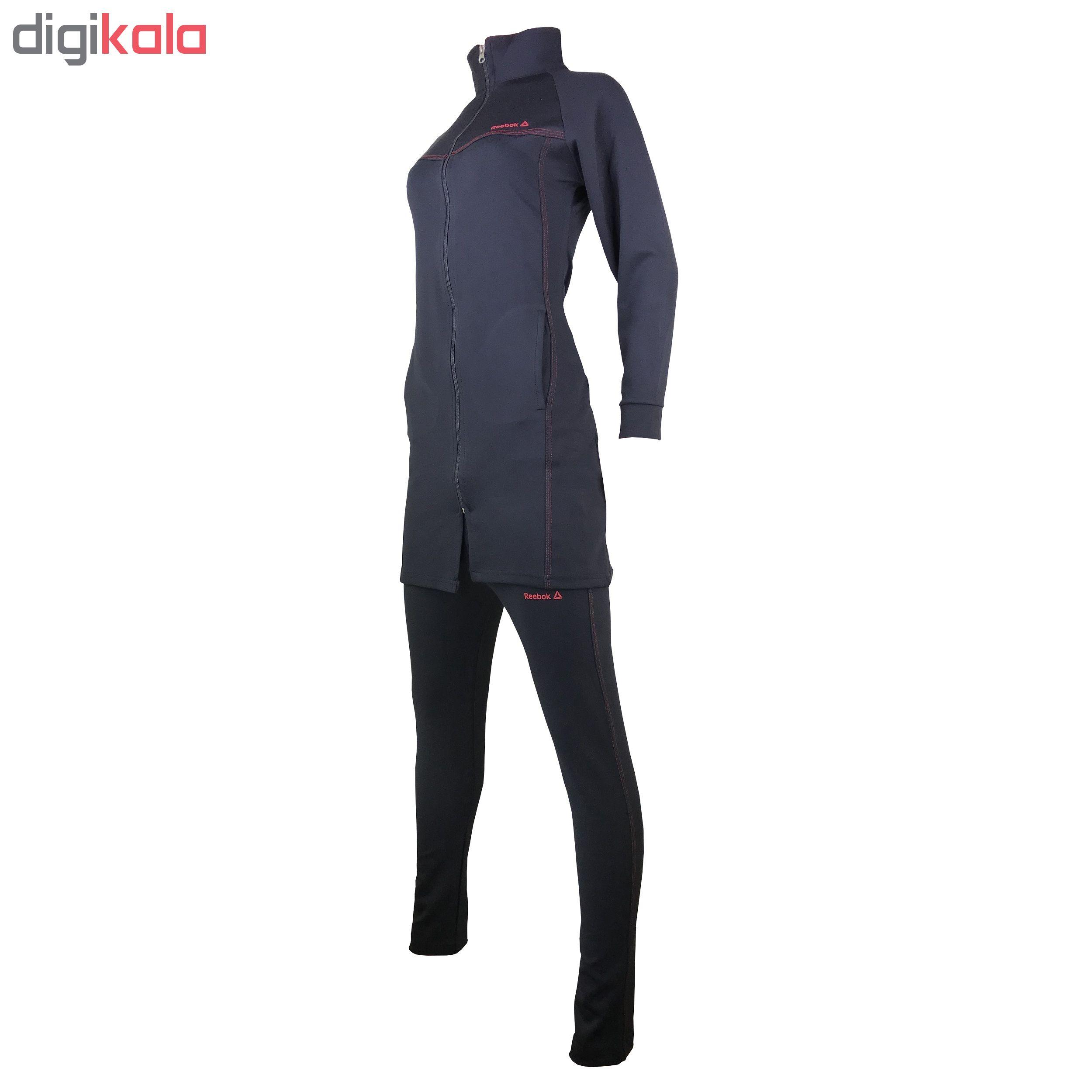 ست گرمکن و شلوار ورزشی زنانه مدل R-BL100 main 1 2