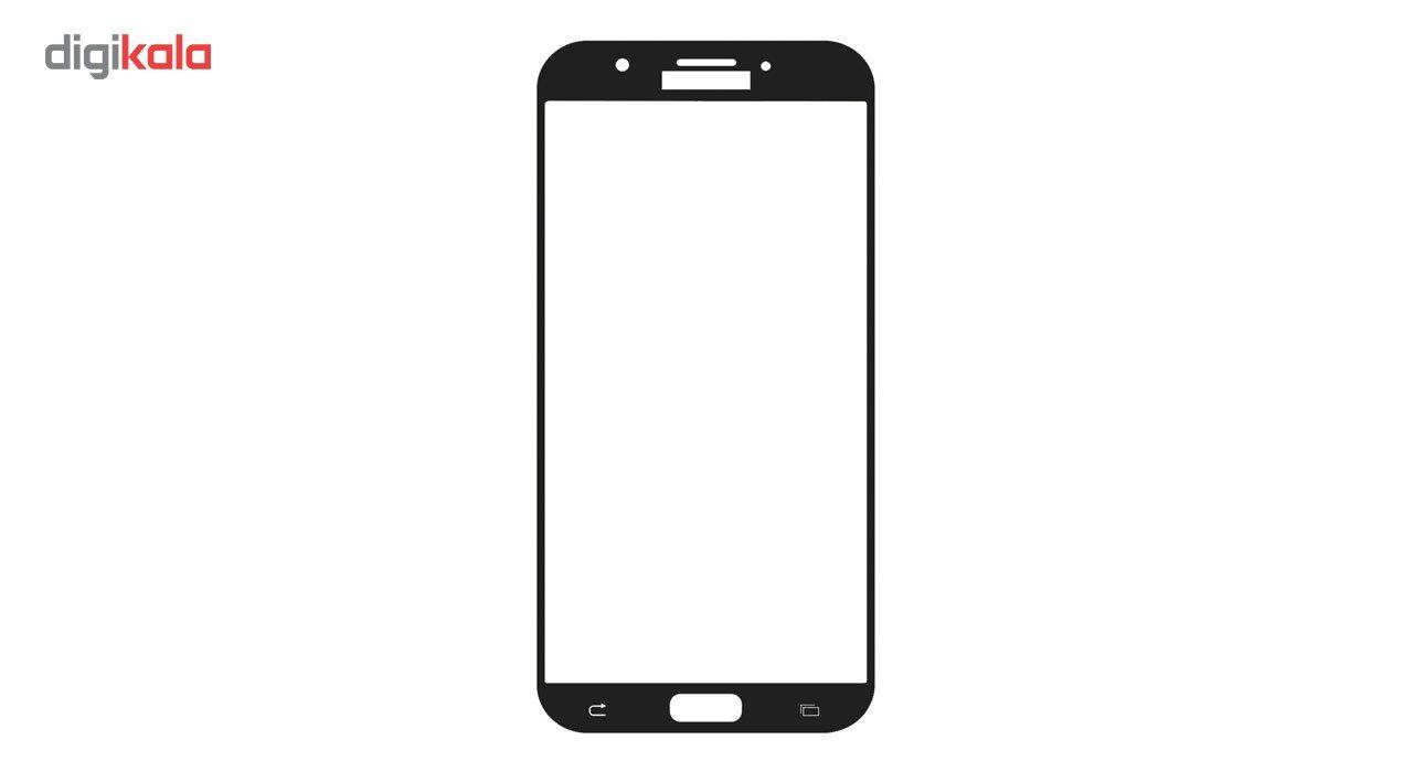 محافظ صفحه نمایش شیشه ای تمپرد مدل Full Cover مناسب برای گوشی موبایل سامسونگ Galaxy A7 2017 main 1 2