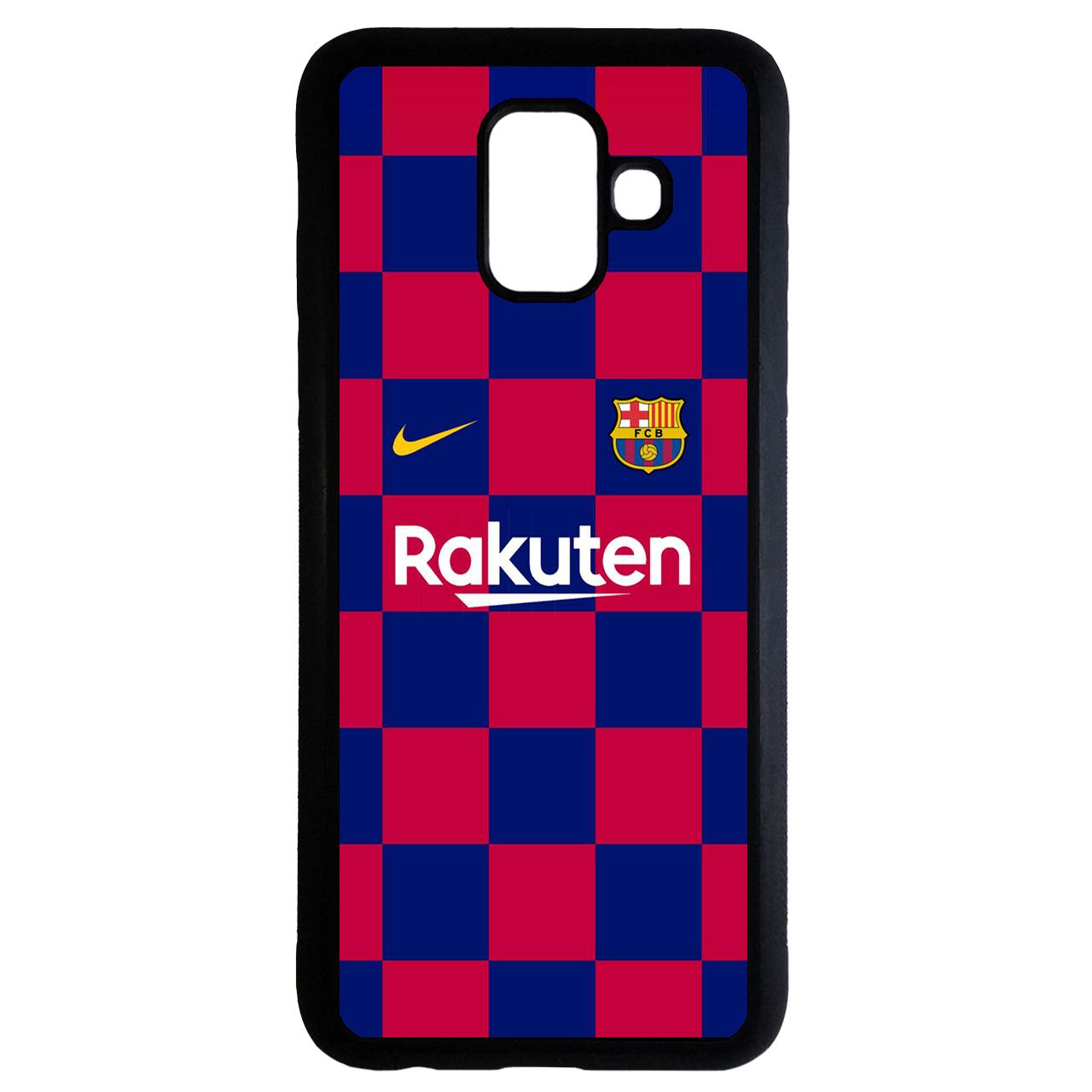 کاور طرح لباس تیم بارسلونا کد 1105340 مناسب برای گوشی موبایل سامسونگ galaxy j6