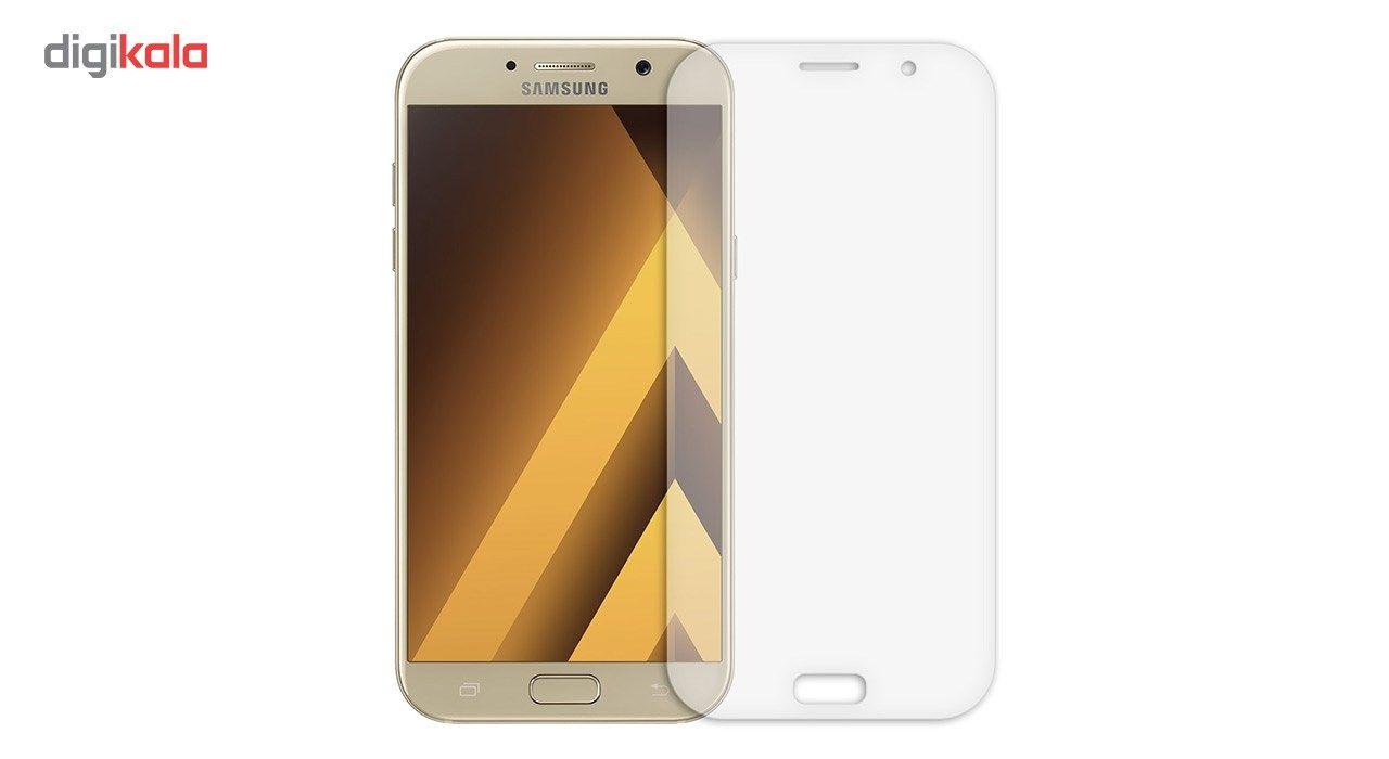 محافظ صفحه نمایش شیشه ای تمپرد مدل Full Cover مناسب برای گوشی موبایل سامسونگ Galaxy A7 2017 main 1 3