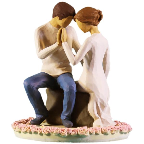 مجسمه امین کامپوزیت مدل درکنارتو روکیکی کد 116