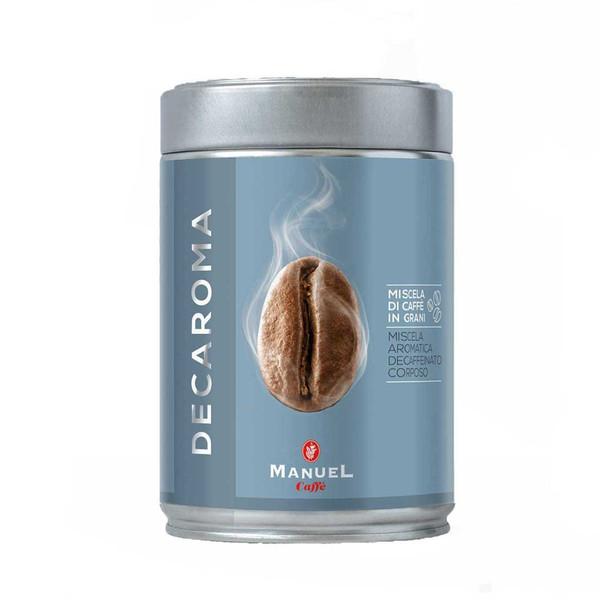 قوطی قهوه آسیاب مانوئل مدل Decaroma