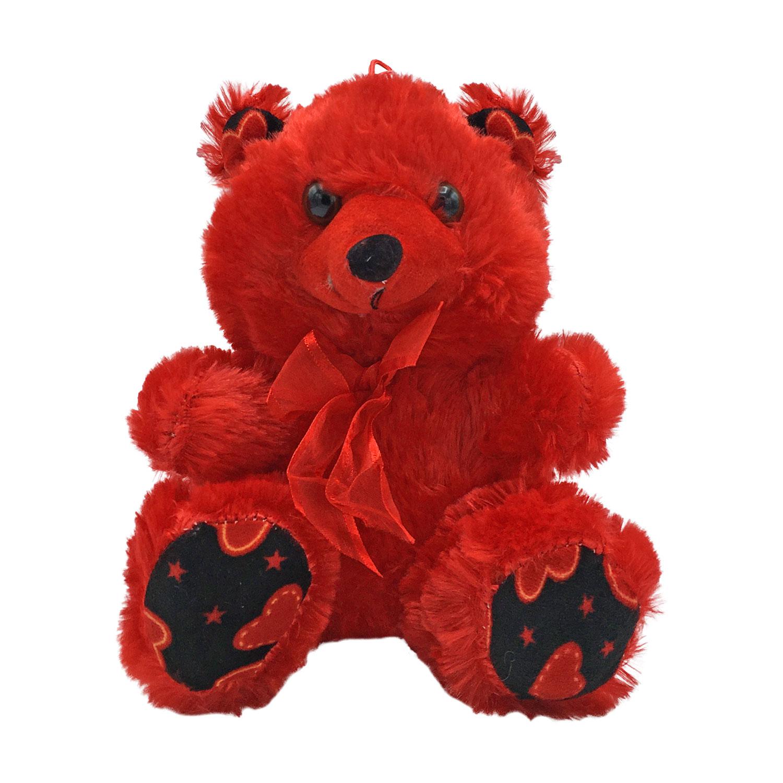 عروسک طرح خرس قلبی کد 797  ارتفاع 23 سانتی متر