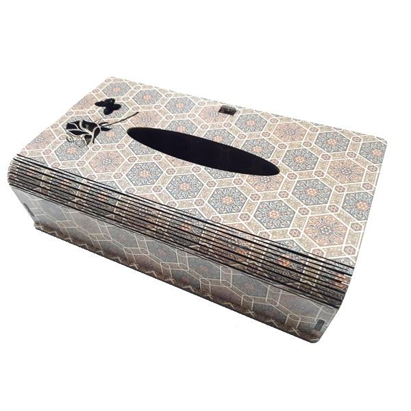عکس جعبه دستمال کاغذی کد 1100